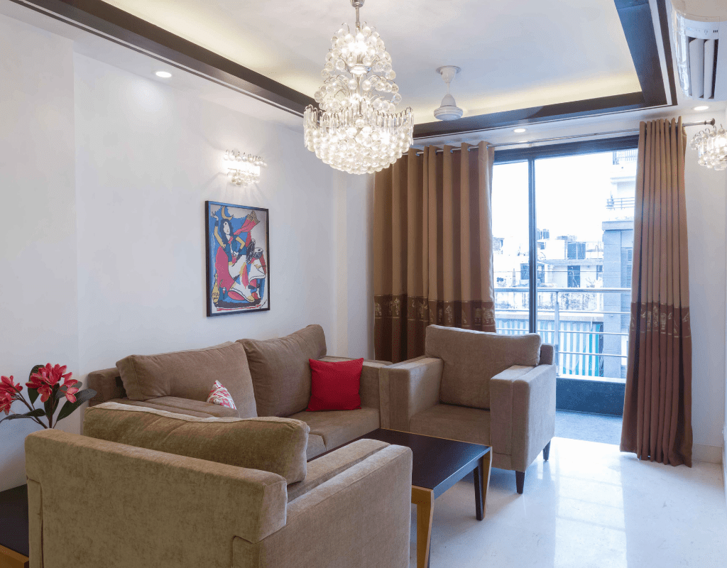 3 BHK Service Apartment – Defence Colony